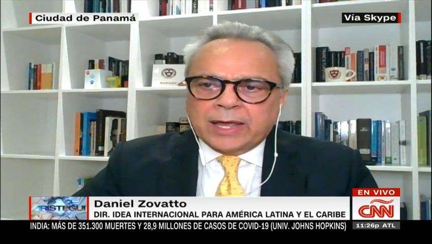 Daniel Zovatto, sobre las elecciones en Perú: La moneda está aún en el aire y faltan días para conocer al próximo presidente