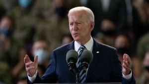 Biden aterriza en Inglaterra para su gira internacional