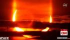 Así se vio en el hemisferio norte el 'anillo de fuego' tras un eclipse solar
