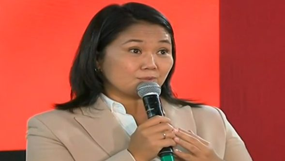 Keiko Fujimori responde a pedido de prisión preventiva