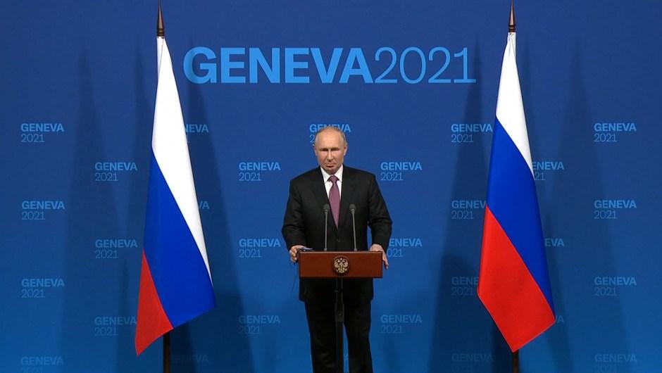 Conferencia de prensa de Putin tras cumbre con Biden