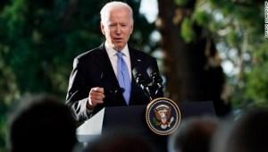 Biden: Dije a Putin que siempre hablaremos de DD.HH.