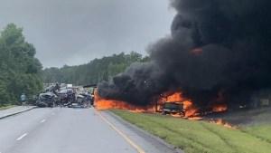 Nueve niños y un adulto mueren en un accidente automovilístico en Alabama
