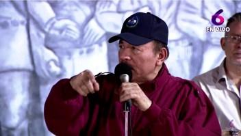 Daniel Ortega habla sobre opositores detenidos en televisión