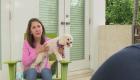 Mujer que escapó de condominio colapsado con su perro: Era como 'Titanic'