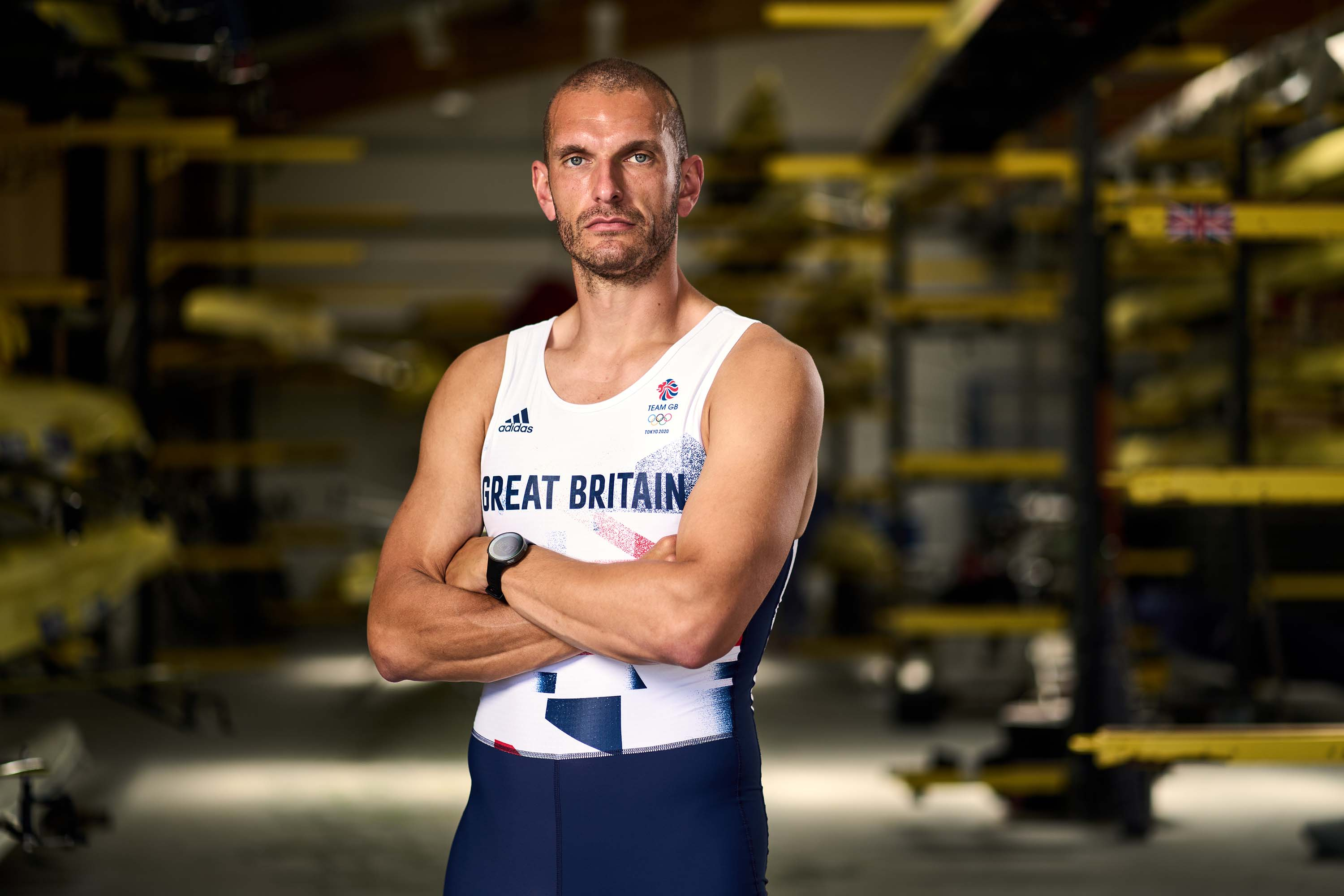 Great Britain's Mohamed Sbihi during the Team GB Tokyo 2020 Rowing team announcement at the Redgrave Pinsent Rowing Lake, Reading. Picture date: Wednesday June 9, 2021. (Photo by John Walton/PA Images via Getty Images)