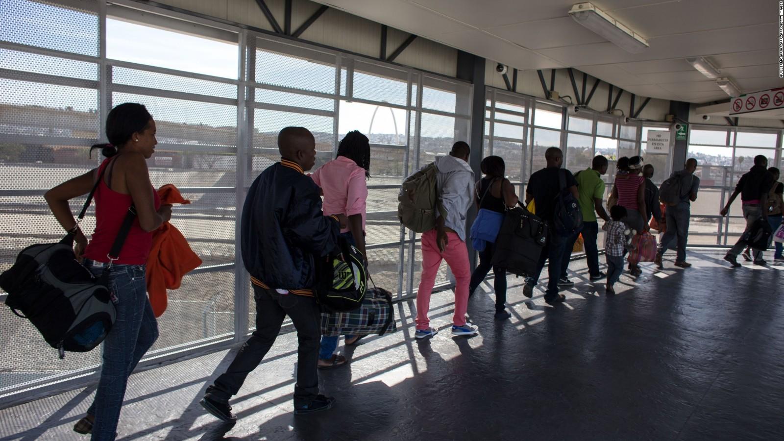México registra aumento de solicitudes de asilo de ciudadanos de Haití
