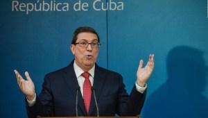 Canciller cubano: EE.UU. no tiene autoridad moral en Cuba