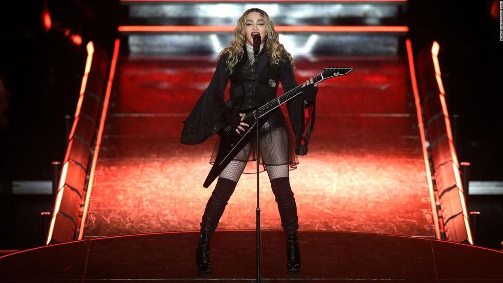 """Madonna annonce la première de son documentaire """"Madame x"""""""