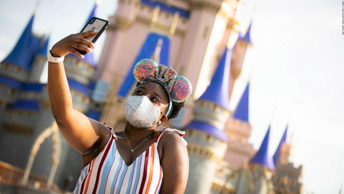 Los parques de Disney en los que tendrás usar mascarilla