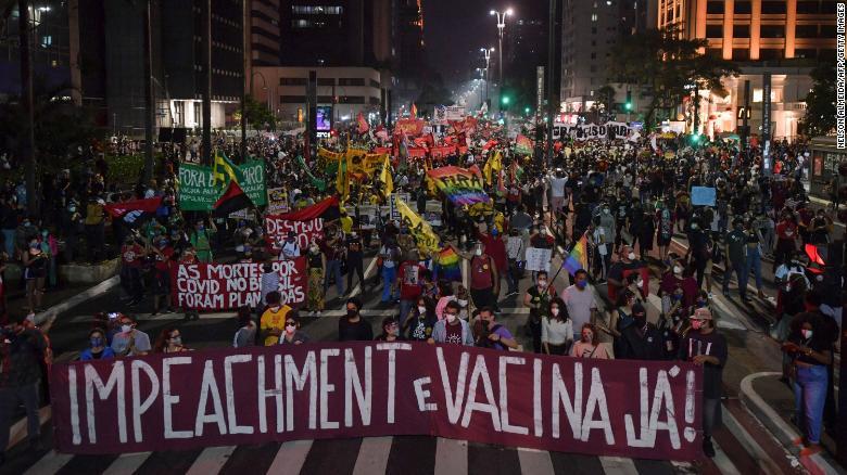 Bolsonaro escándalos Brasil covid
