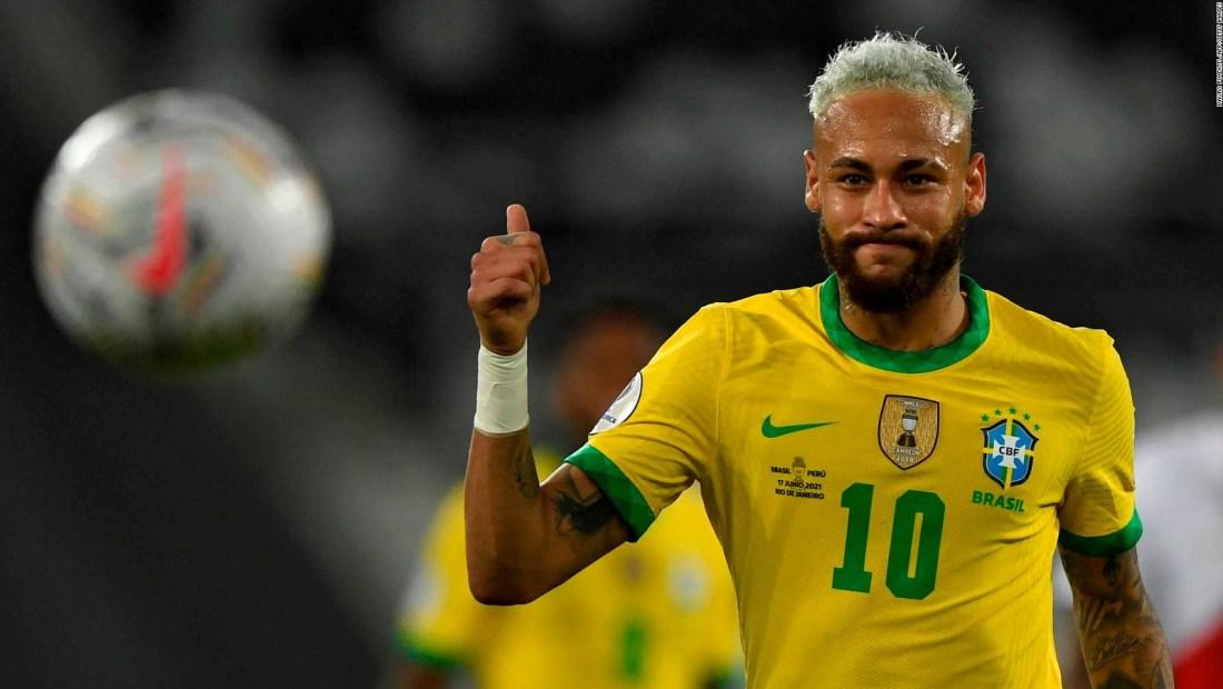 Neymar Jr. le pone picante a la final de la Copa América