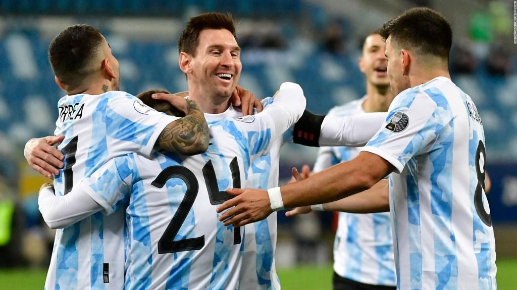 Messi y Argentina apuntan a las semifinales