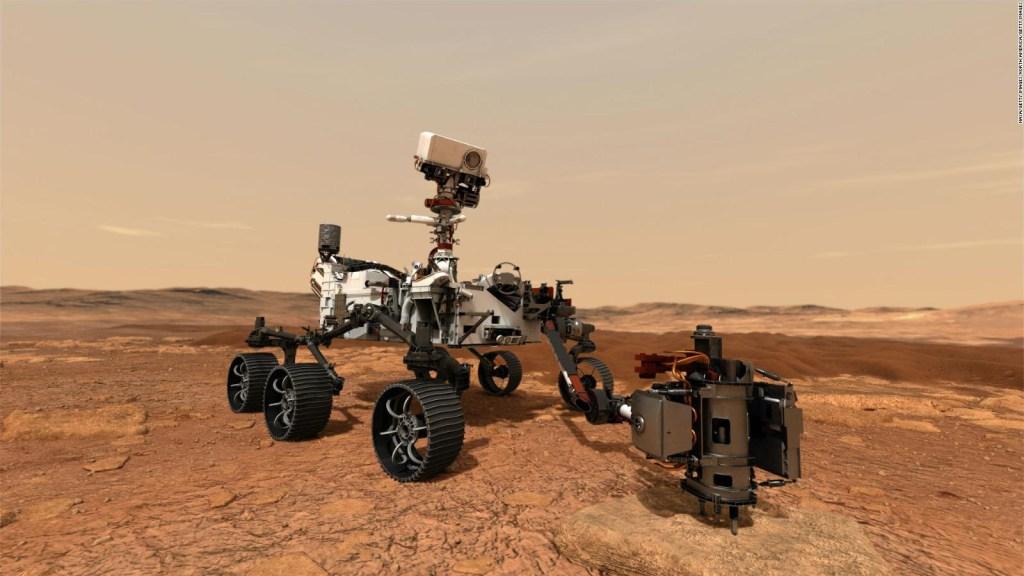 Il momento in cui la perseveranza prende il suo autoritratto su Marte