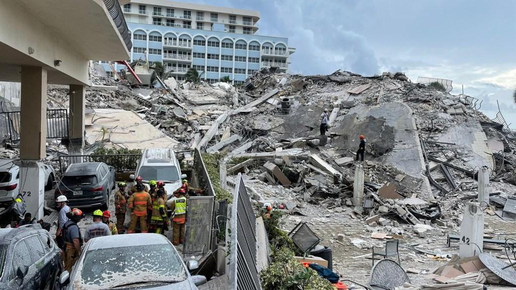 Ellos murieron en el colapso del edificio