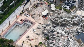 El colapso ha traumatizado a muchos, dice alcalde