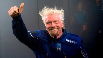 Richard Branson viajará al espacio antes que Jeff Bezos