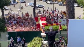 Mourinho ya causa furor en la afición de la Roma