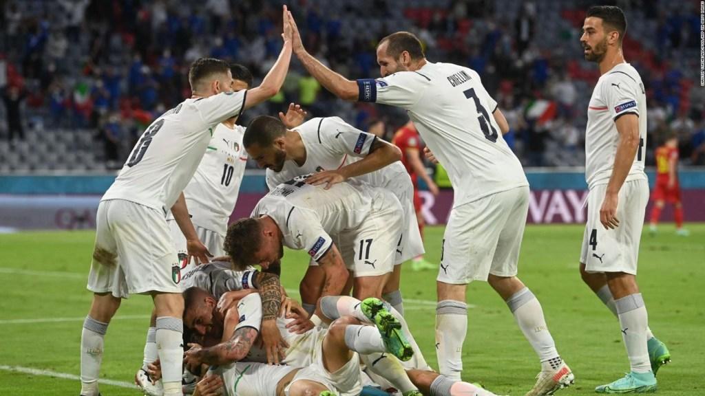 'Renace' Italia con destacada participación en la Euro