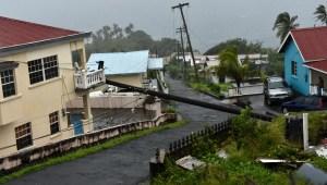 Efectos de tormenta tropical Elsa en República Dominicana