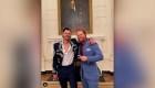 Joe Kelly fue a la Casa Blanca con chaqueta de mariachi