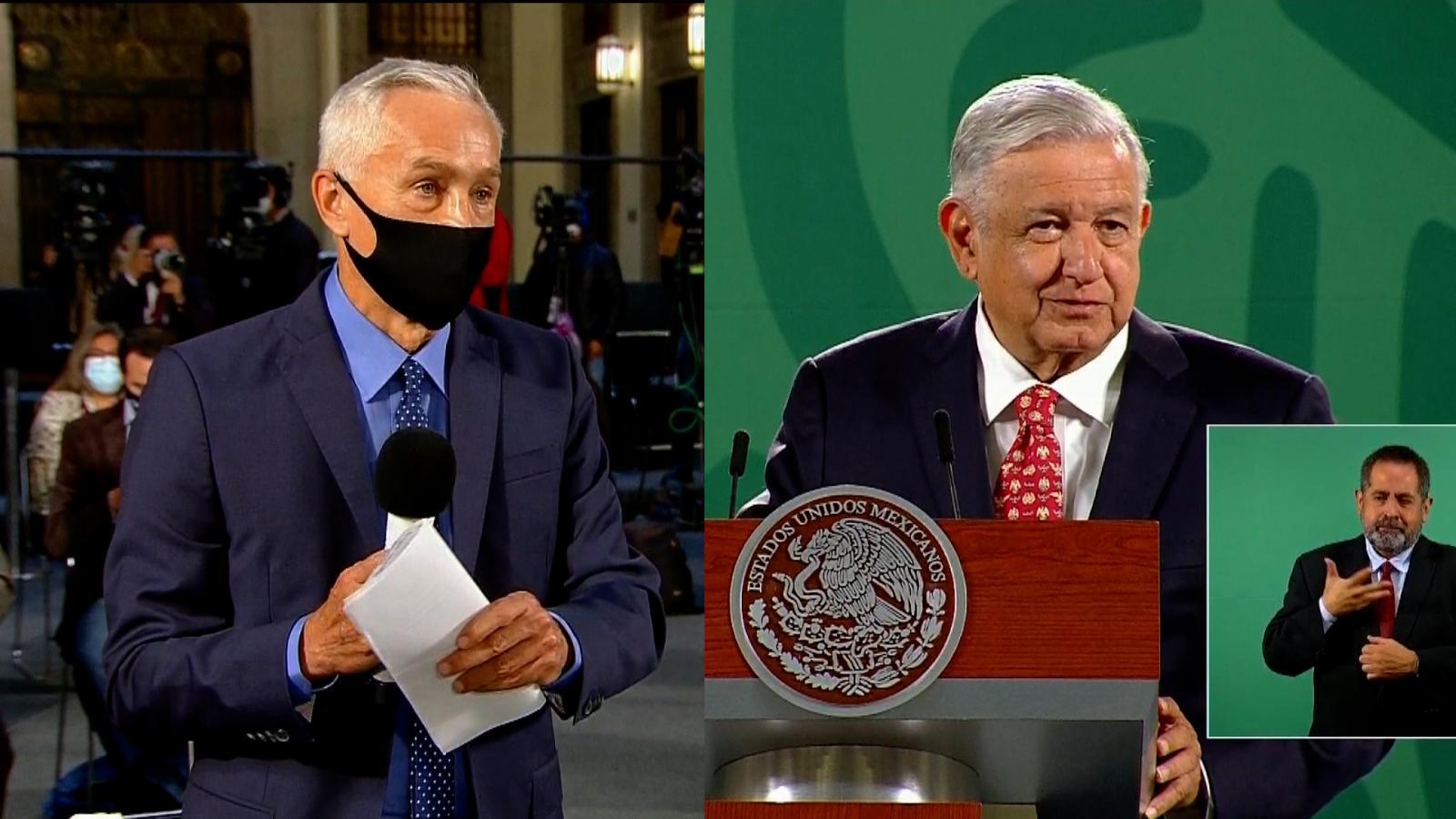 Así fue el debate entre AMLO y Jorge Ramos en la mañanera