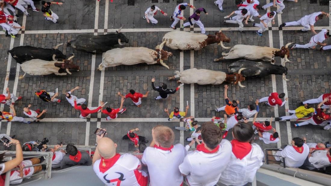 Así fue el último San Fermín antes del covid-19