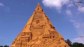 El castillo de arena más alto del mundo