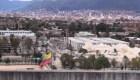 Mira la demolición de un edificio en Colombia