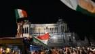 Italia a la final de la Euro: así se celebra en Roma