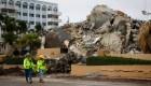 Derrumbe en Miami: dudas sobre el número de desaparecidos