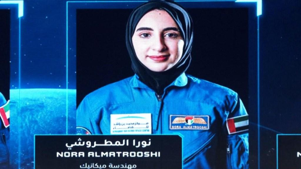 Conoce a la primera astronauta árabe