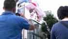 Mira este gato gigante que conquistó las calles de Tokio