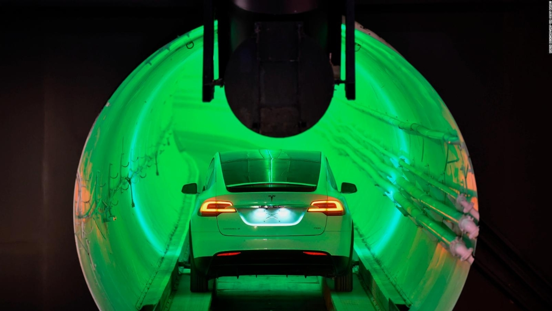 Un túnel hasta la playa en Fort Lauderdale