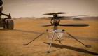 El helicóptero Ingenuity cumplió su vuelo más difícil en Marte