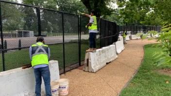 Quitan la valla del Capitolio puesta tras el 6 de enero