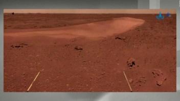 Nuevas imágenes de Marte del vehículo explorador de China