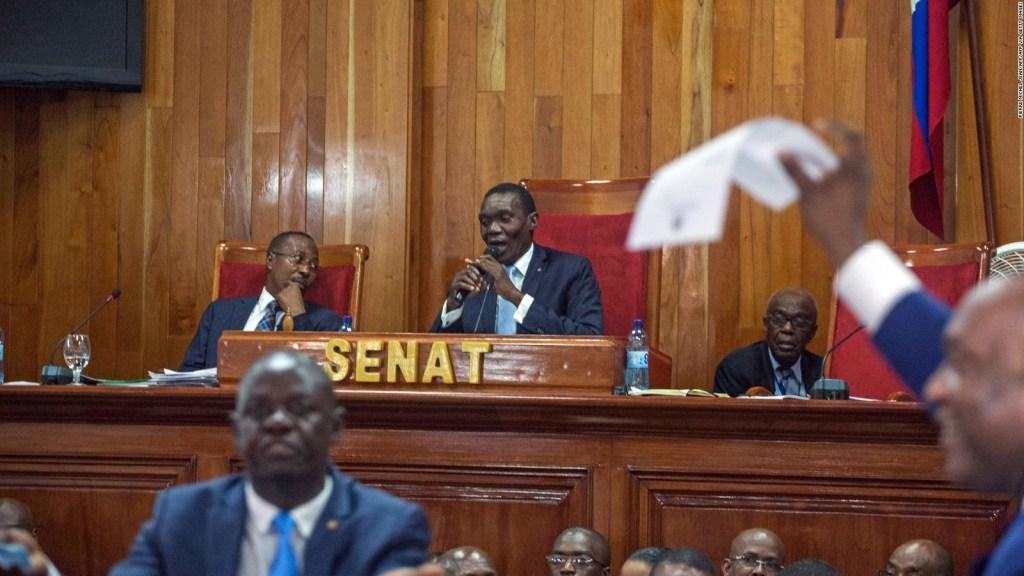 Haiti's interim prime minister faces setback