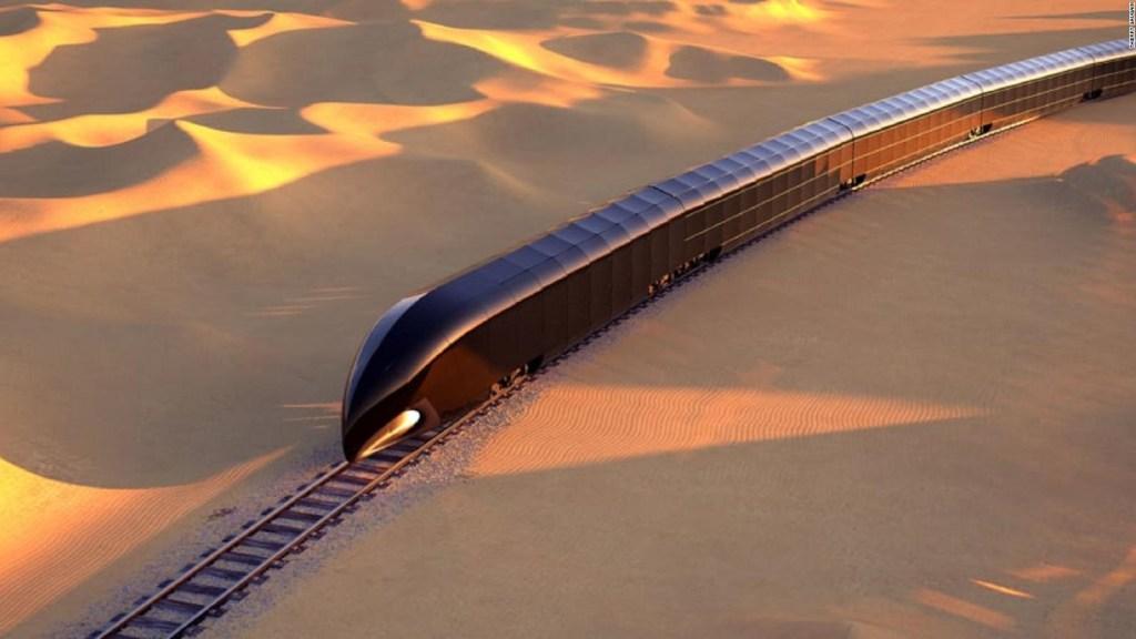 Así se ve un lujoso tren valorado en US$ 350 millones