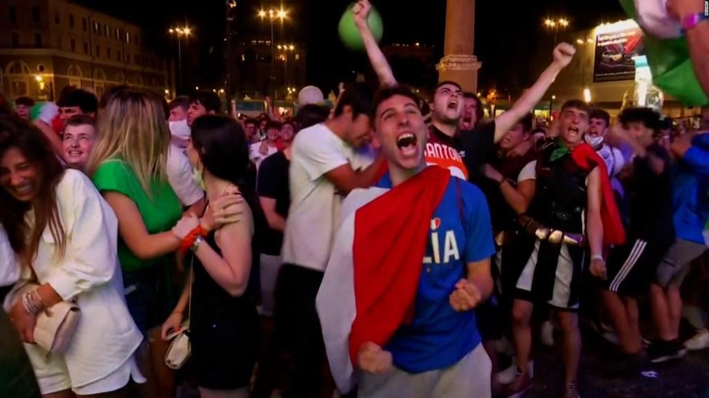 Así fue la noche en Roma tras ganar la Euro 2020