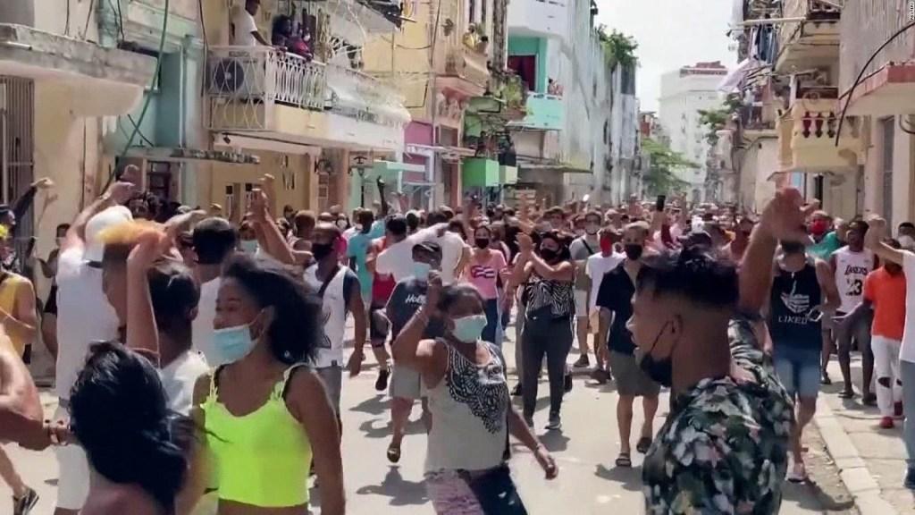 """Manifestaciones en Cuba: """"Ya no tenemos miedo"""""""