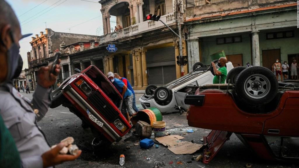 Raíz del estallido en Cuba es el deterioro, dice historiador