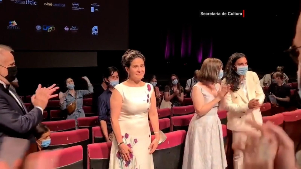 Mexican actress captivates the Cannes Film Festival
