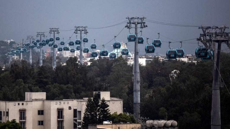 Causa sensación la inauguración del Cablebús en México