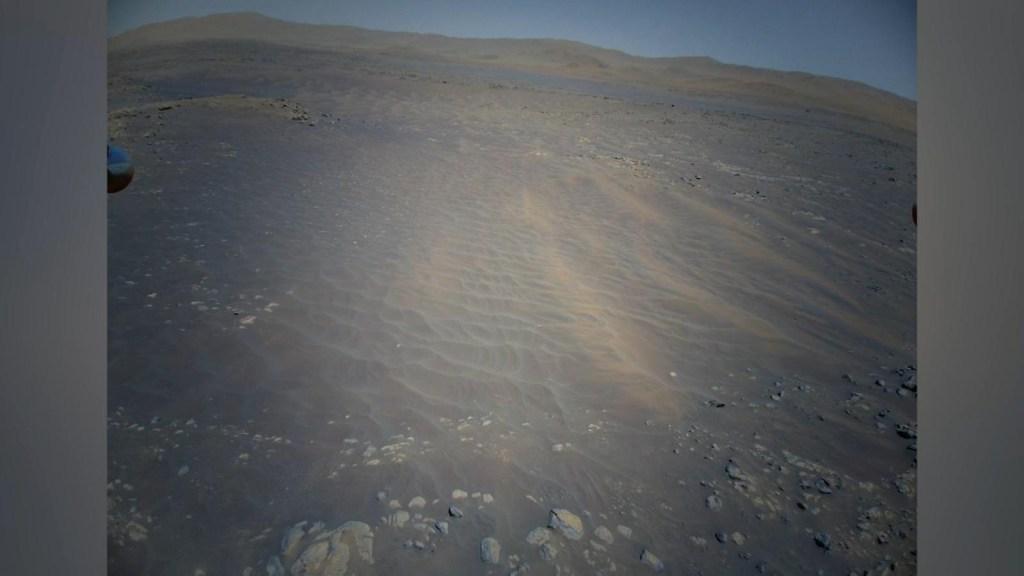 Así se ve el terreno de Marte a todo color