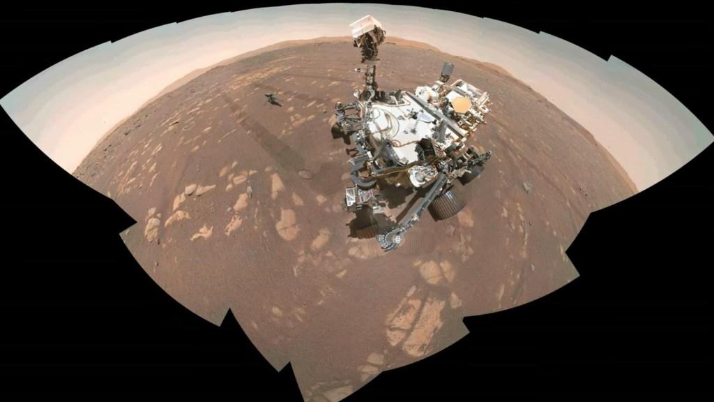 Estas imágenes revelan misterios de Marte