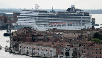 Nueva prohibición de cruceros en Venecia