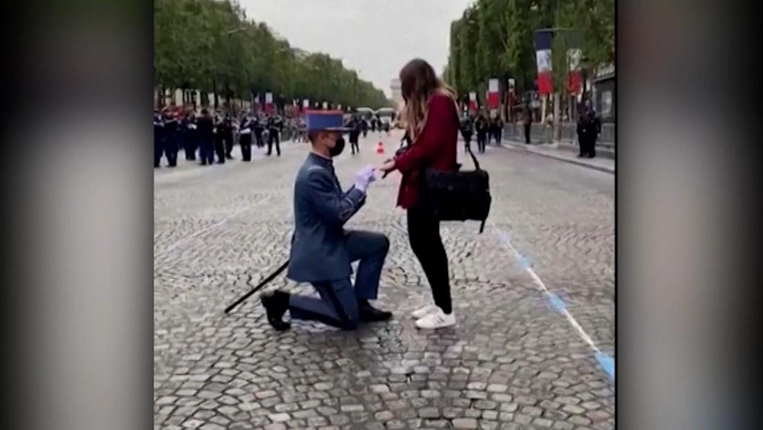 Propuesta detuvo el desfile de independencia de Francia