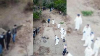 Recuperan 500 kilos de restos óseos calcinados en México