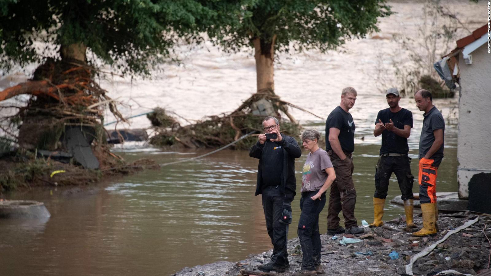 Inundaciones provocan muertes en Alemania y Bélgica